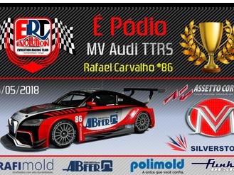 É Pódio - MV Audi TTRS