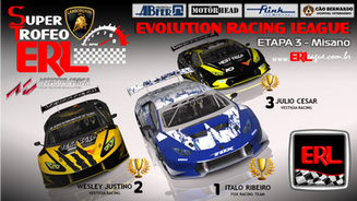 ERL-Super Trofeo -Etapa 3 – Misano