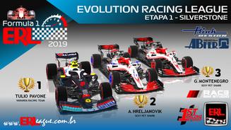 ERL-F1 Hibrid 2019 - Etapa 1 - Silverstone