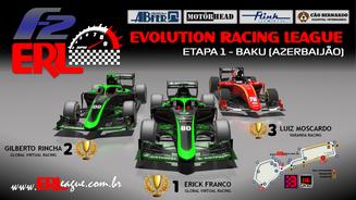 ERL-Formula 2 RSS Etapa 1 – Baku (Azerbaijão)