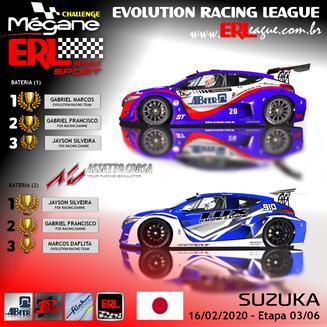 ERL-Megane Trophy  - Et.3 Suzuka