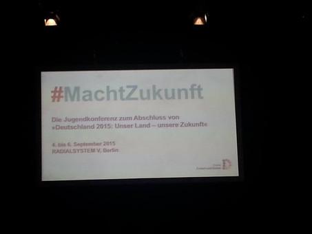 Berlin: Jugendkonferenz #machtZukunft