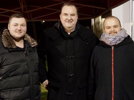 JO-Vorstand besucht Trainingsauftakt der Rhein-Main Rockets