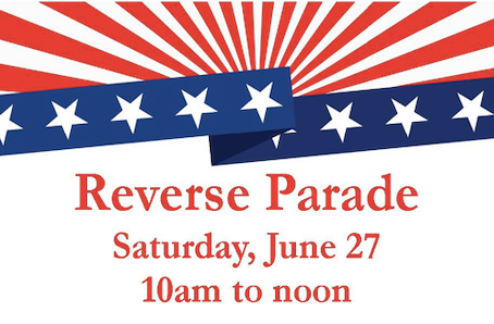 Reverse Parade Scheduled for June 27