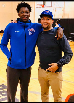 Damion Baugh & Coach Rayford