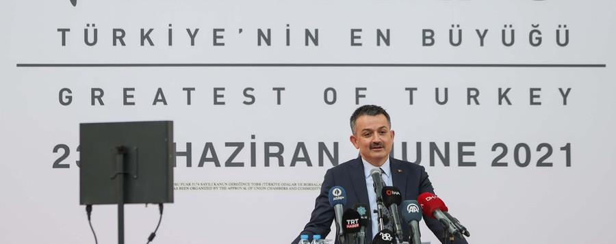 BAKAN PAKDEMİRLİ İZMİR'DE