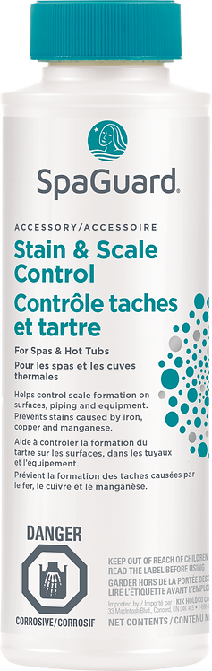 SPAGUARD Stain & Scale Control