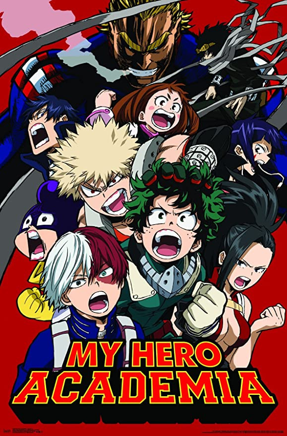 My Hero Academia poster not available