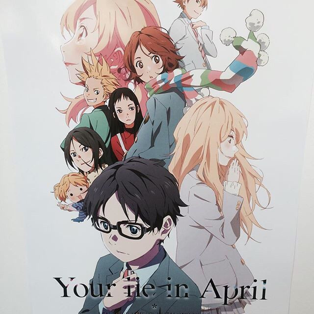 Your Lie In April Poster Not Available