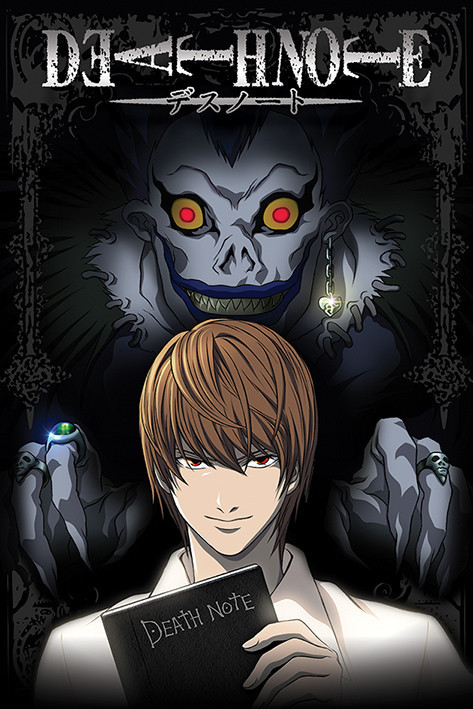 death note poster not available