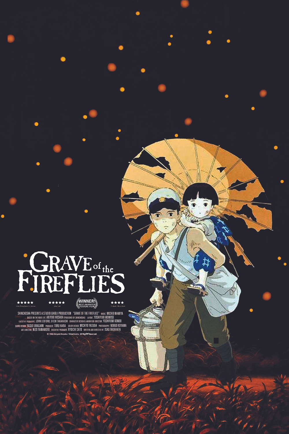Grave of the FireFlies Poster Not Available