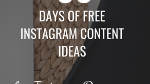 30 Posts for 30 Days