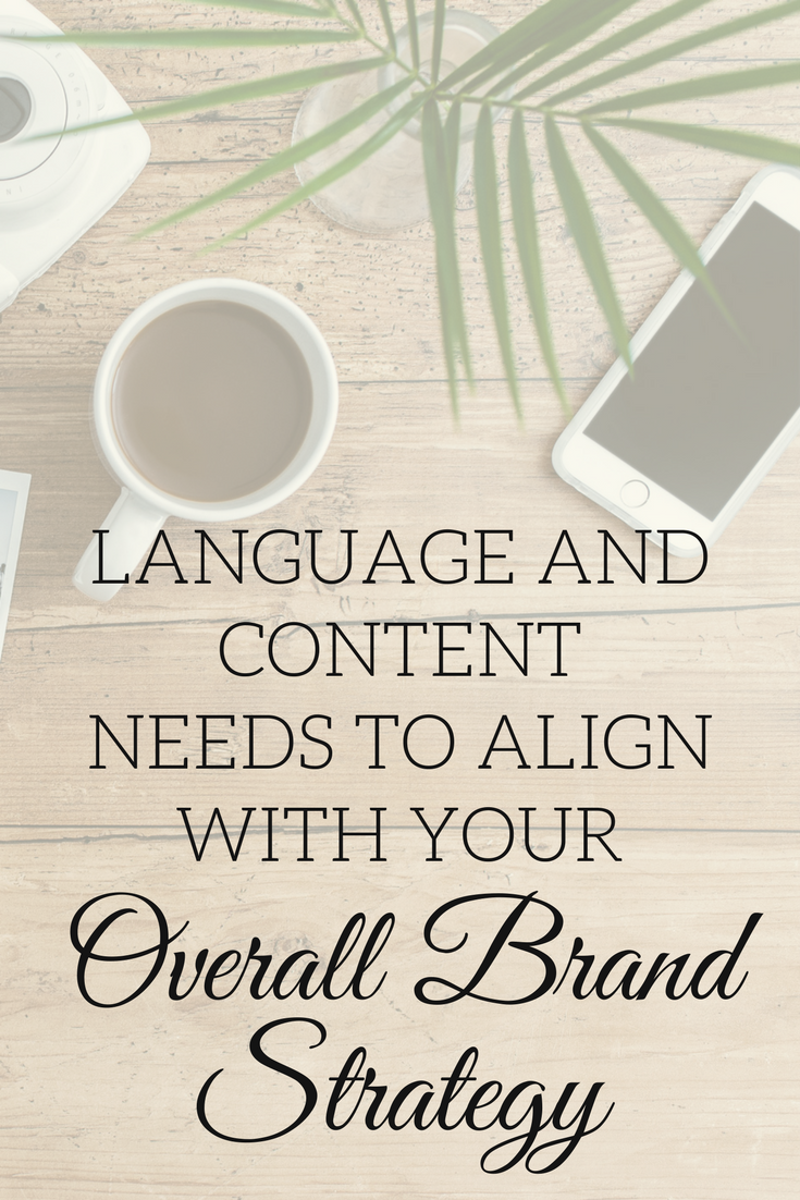 Language and Content Overall Brand Strategy