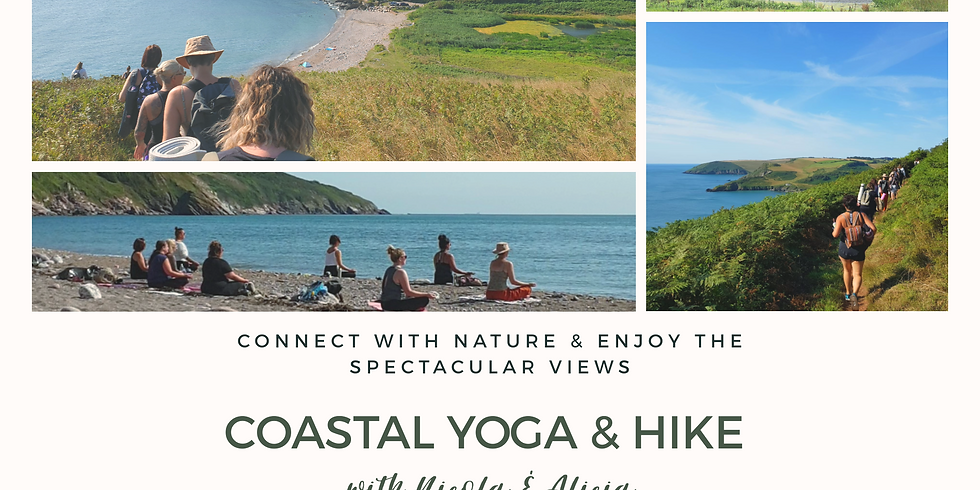 Coastal Yoga & Hike with Nicola & Alicia