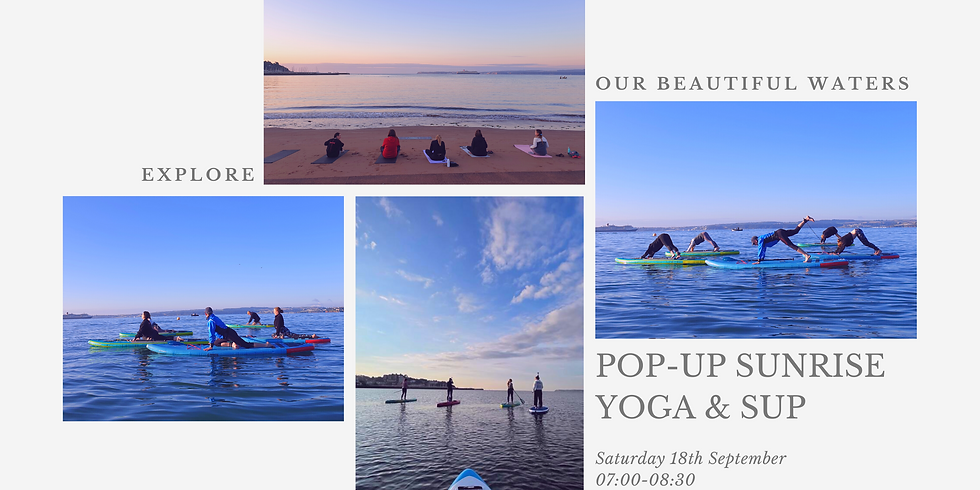 Pop-up Sunrise Yoga & SUP