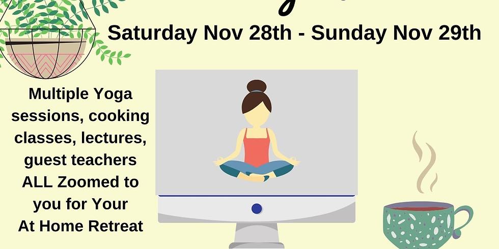 Virtual Yoga Retreat