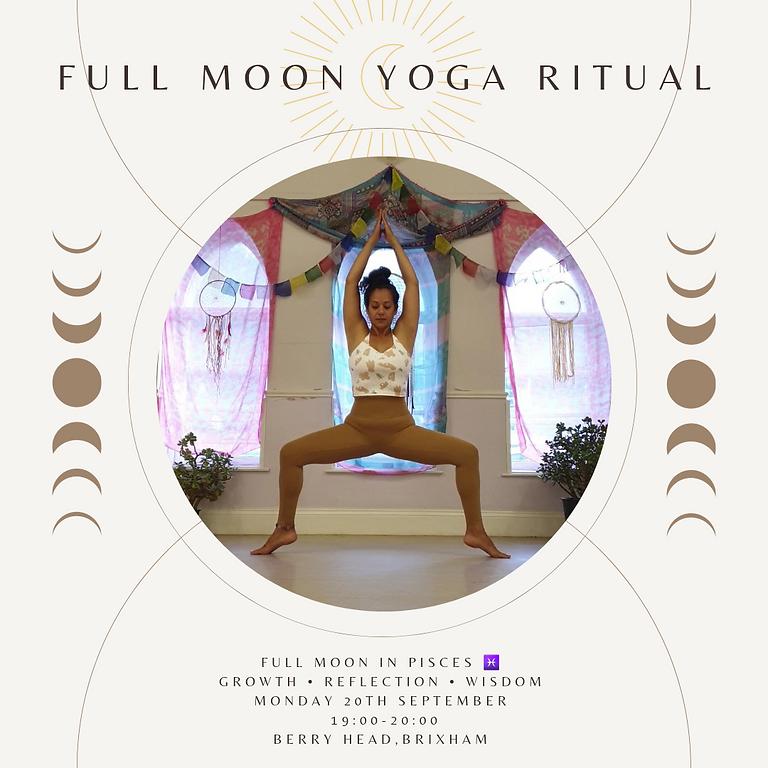 Full Moon Yoga Ritual