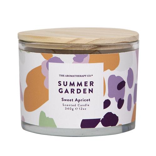 TAC Summer Garden Candle - Sweet Apricot (340g)