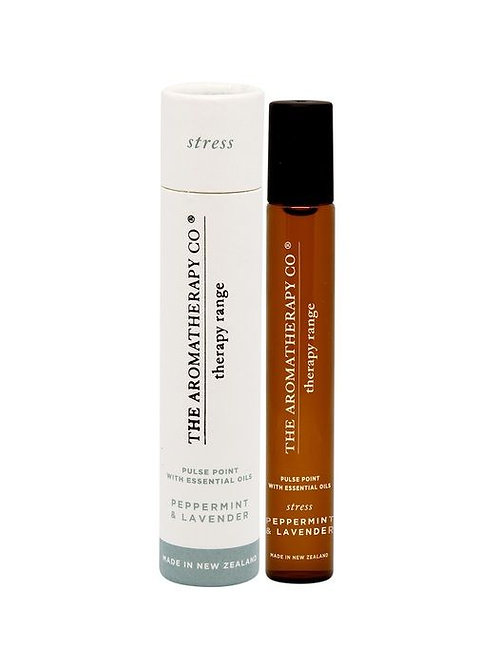 Therapy Pulse Point 15ml Stress (Peppermint & Lavender)