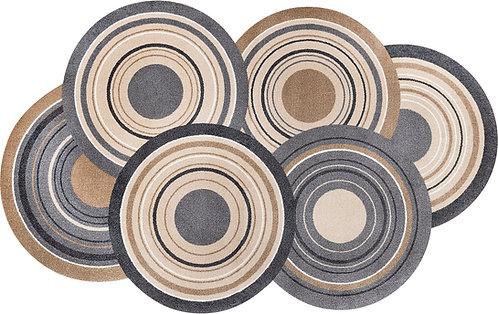 Kleen-Tex wash+dry Floor Mat Design -  Cosmic Colours Nature