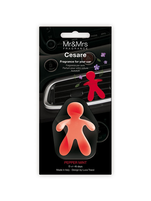 Cesare Car Blister - Red (Peppermint)