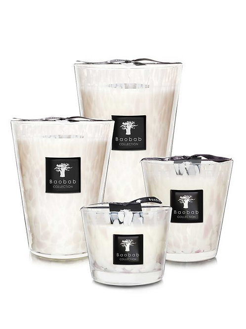 White Pearls Candle