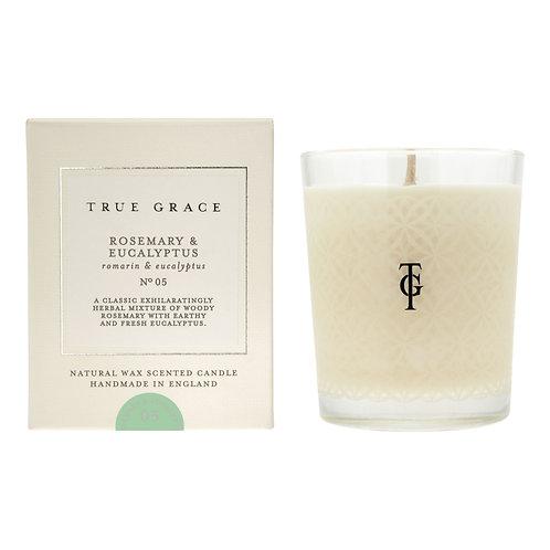 True Grace Village Classic Candle - Rosemary & Eucalyptus (190G)