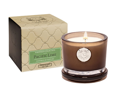 Aquiesse Portfolio Small Soy Boxed Scented Candle - Pacific Lime (5oz)