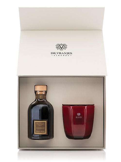 Dr. Vranjes Oud Nobile Gift Box 500ml Diffuser with 500g Candle
