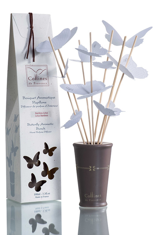 Bamboo Lotus - Aromatic Butterfly Diffuser (100ml)