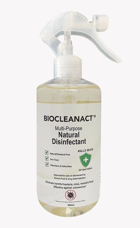 Biocleanact Multi-Purpose Natural Disinfectant (500ML)