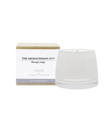 TAC Therapy® Candle Relax - Lavender & Clary Sage (260g)