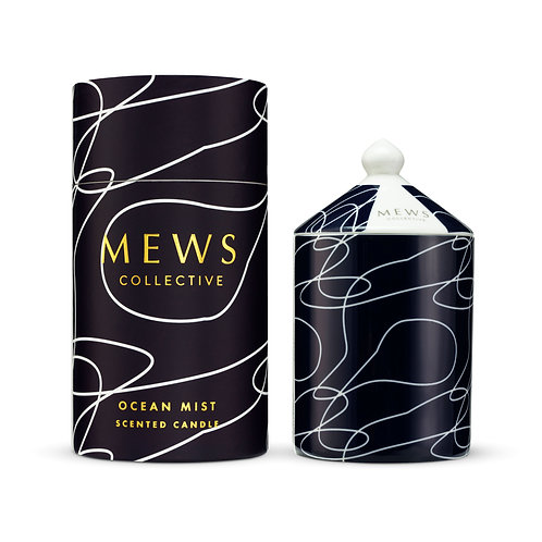 Mews Collective 320g Candle - Ocean Mist
