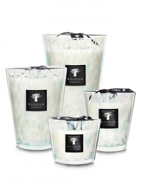 Sapphire Pearls Candle