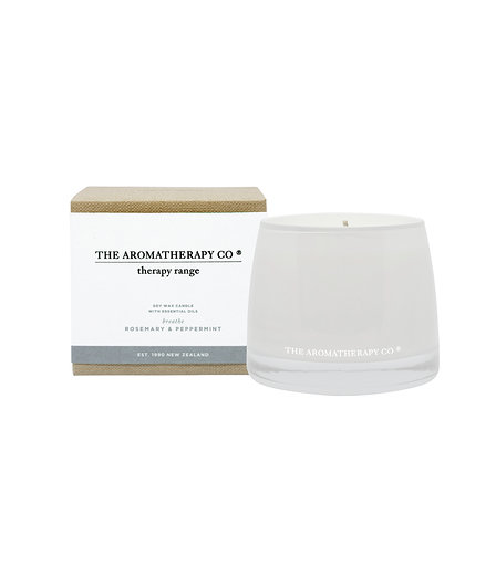 Therapy® Candle Breathe - Rosemary & Peppermint (260g)