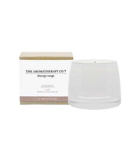 Therapy® Candle Soothe - Peony & Petitgrain (260g)