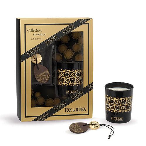 Esteban Paris Parfums Classic Teck & Tonka Gift Set