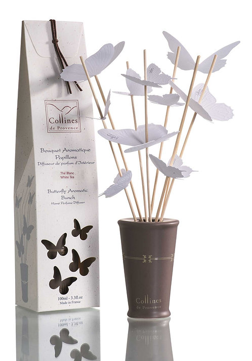 White Tea - Aromatic Butterfly Diffuser 100ml