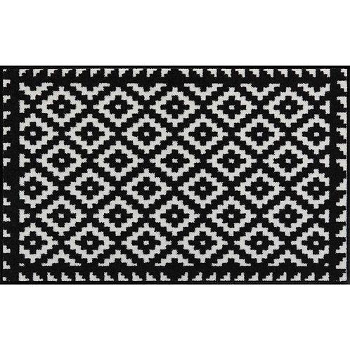 Salonloewe Floor Mat Design - Tabuk Black & White