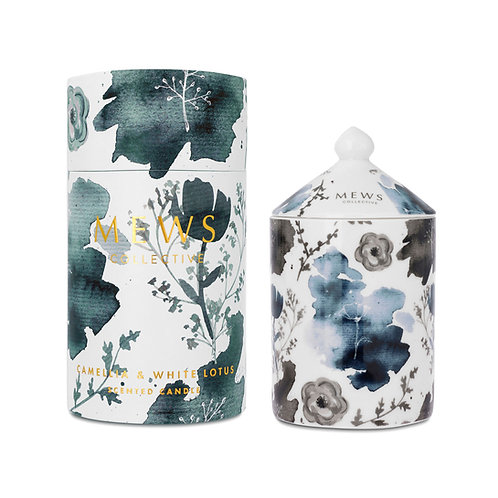 Mews Collective 320g Candle - Camellia & White Lotus
