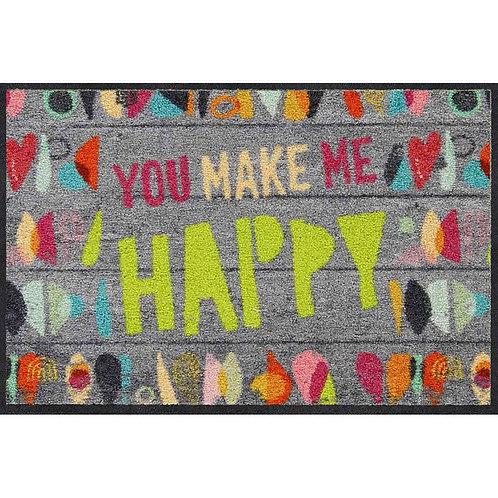 Salonloewe Floor Mat Design - Make me Happy (50 X 75)