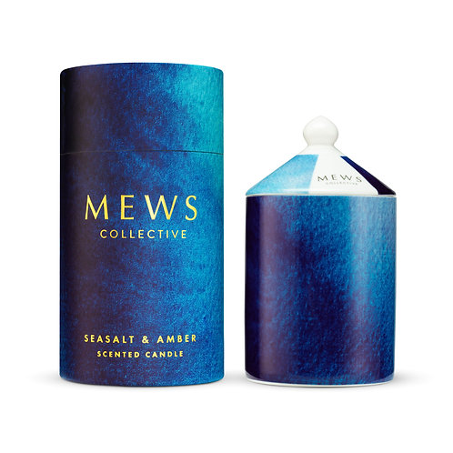 Mews Collective 320g Candle - Seasalt & Amber