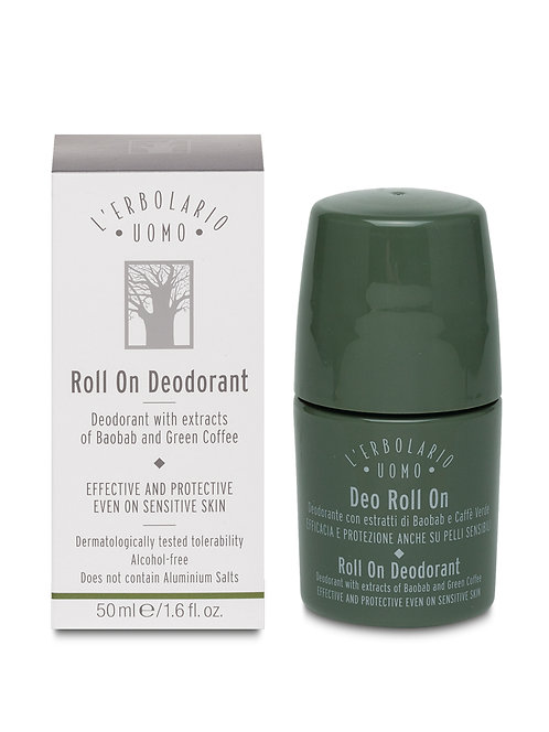 Uomo Roll On Deodorant (50ml)