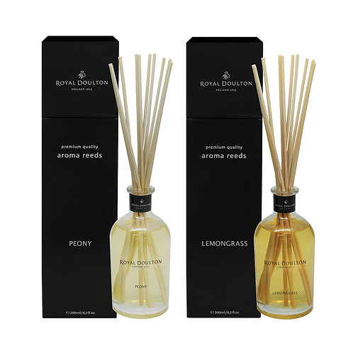 Royal Doulton Black Aroma Reeds Diffuser 200ml Promo (Any 2 for $159)