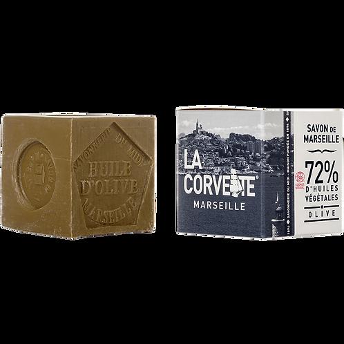 La Corvette Marseille Soap cube OLIVE (100G)