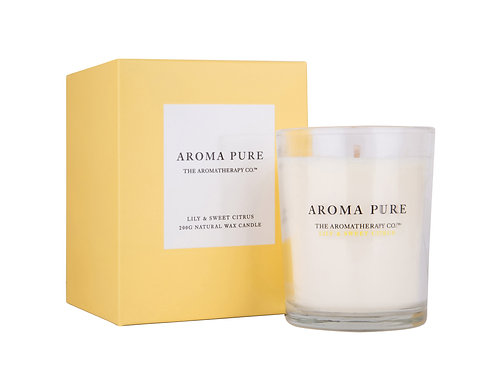 TAC Aroma Pure Candle Lily & Sweet Citrus (200g)