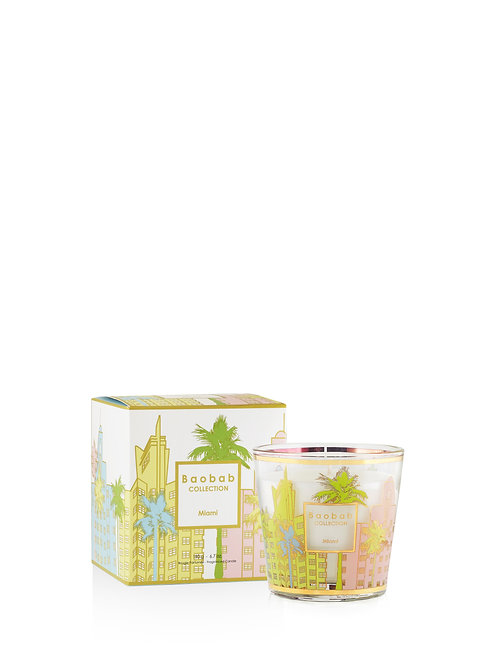 My First Baobab - Cities Miami Candle (Max 08)