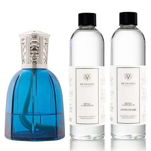 Dr. Vranjes Firenze Sapphire Lamparfum+Choice of Scent+FREE Antizanzare Scent