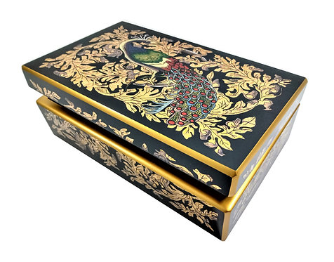 Berrocal Home Collection - Peacock Medium Chest