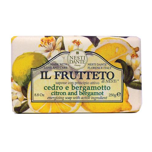 IL Frutteto Citron & Bergamot Soap (250g)